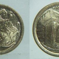 Monedas con errores: 5 PESETAS 1997 VARIANTE SOMBRERO PEGADO AL DOBLE LISTEL. Lote 103143431