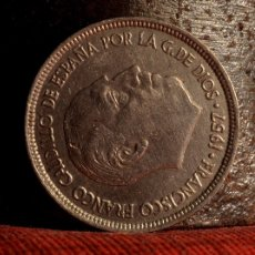 Coins with Errors - CINCO PESETAS 1957*73:ERROR POR EXCESO DE MATERIAL EN EL ANVERSO (REF. 425) - 103099407