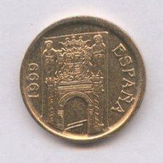 Monedas con errores: * ERROR * 5 PESETAS AÑO 1999 LISTEL GRUESO ANVERSO Y REVERSO SIN CIRCULAR.. Lote 107618580