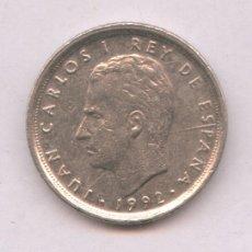 Monedas con errores: * ERROR * MONEDA 10 P 1992 CON DOS ERRORES EXCESO DE METAL EN LA NUCA Y TILDE EN LA A. Lote 107659623