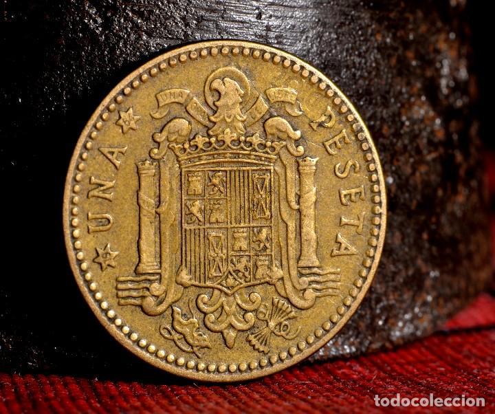 MISCELANIA DE ERRORES EN PESETA DE 1963 *64 (REF. 438) (Numismática - España Modernas y Contemporáneas - Variedades y Errores)