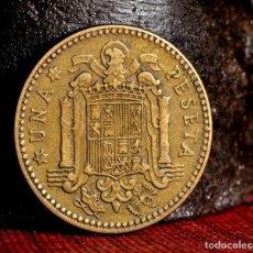 Monedas con errores: MISCELANIA DE ERRORES EN PESETA DE 1963 *64 (REF. 438). Lote 107702943