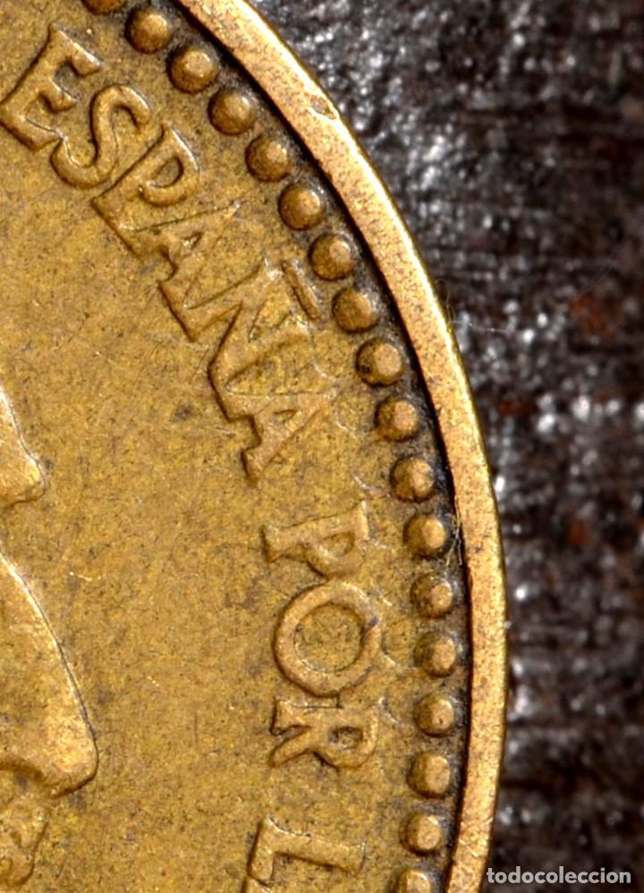 Monedas con errores: MISCELANIA DE ERRORES EN PESETA DE 1963 *64 (REF. 438) - Foto 7 - 107702943