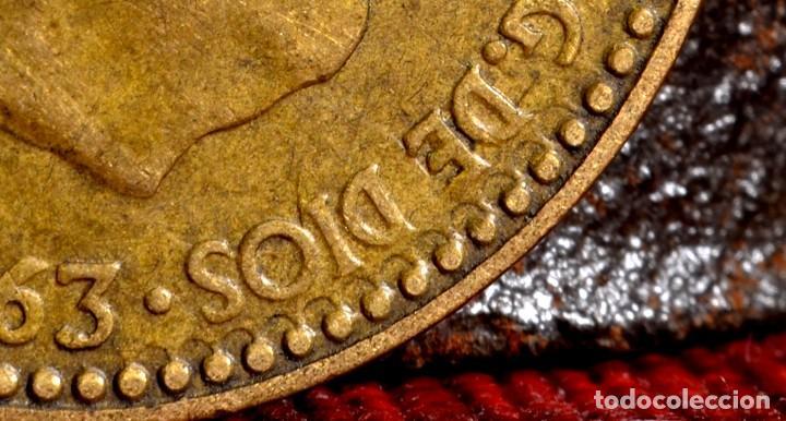 Monedas con errores: MISCELANIA DE ERRORES EN PESETA DE 1963 *64 (REF. 438) - Foto 8 - 107702943