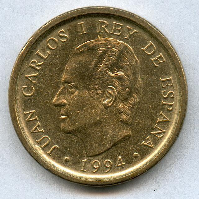 * ERROR * MONEDA 100 PTAS AÑO 1994 LISTEL GRUESO (Numismática - España Modernas y Contemporáneas - Variedades y Errores)