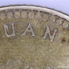 Coins with Errors - JUAN CARLOS I 1 PESETA DE 1975 *78 ,CON PUNTO EN LA N DE JUAN. ACUÑACIÓN INCUSA. - 107976003