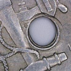Monedas con errores: 50 CENTIMOS 1949*51. ERRORES MÚLTIPLES EN ANVERSO Y REVERSO SEGMENTADA-TALADRO....... Lote 108234999