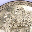 Monedas con errores: ERROR CATALOGADO UNA PESETA 1966*19*72: ERROR POR EXCESO DE MATERIAL EN LAS ALAS (DE CARTUCHO). Lote 108422591