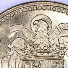 Coins with Errors - ERROR CATALOGADO UNA PESETA 1966*19*72: ERROR POR EXCESO DE MATERIAL EN LAS ALAS (DE CARTUCHO) - 108422591