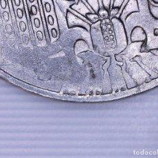 Monedas con errores: ESTADO ESPAÑOL FRANCO 50 CÉNTIMOS 1963*19** (SC). PESO 3,8 GRAMOS - EMPASTADO. Lote 108877275
