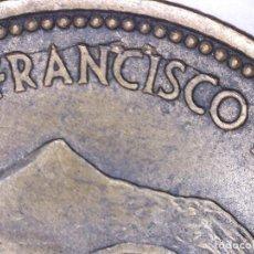Monedas con errores: ESPAÑA MONEDA DE 2,50 PESETAS FRANCO CURIOSA ROTURA DE COSPEL 6,82 GRAMOS.. Lote 108883351