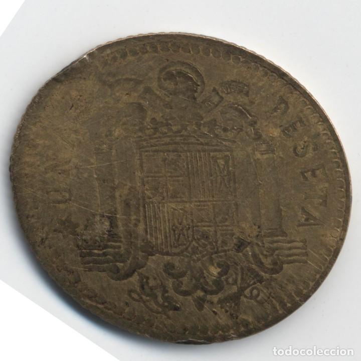 Monedas con errores: ESPAÑA MONEDA DE 1 PESETA 1975*19*79 CURIOSA ERROR/VARIANTE....? ASÍ. - Foto 6 - 108887079