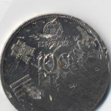 Monedas con errores: ESPAÑA MONEDA DE 100 PESETAS 1980 MUNDIAL 82. (SC). 16,50 GRAMOS - ERRORES MÚLTIPLES MANIPULACION?-. Lote 109818067