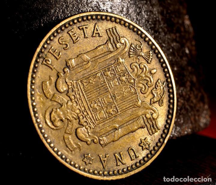 Monedas con errores: NUEVE ERRORES EN UNA PESETA DE 1963 *65 (REF. 476) - Foto 9 - 110077819