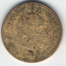 Coins with Errors - ESTADO ESPAÑOL- FRANCO - 1 PESETA 1963*19*65- 3,27 GRMS. - 110511175