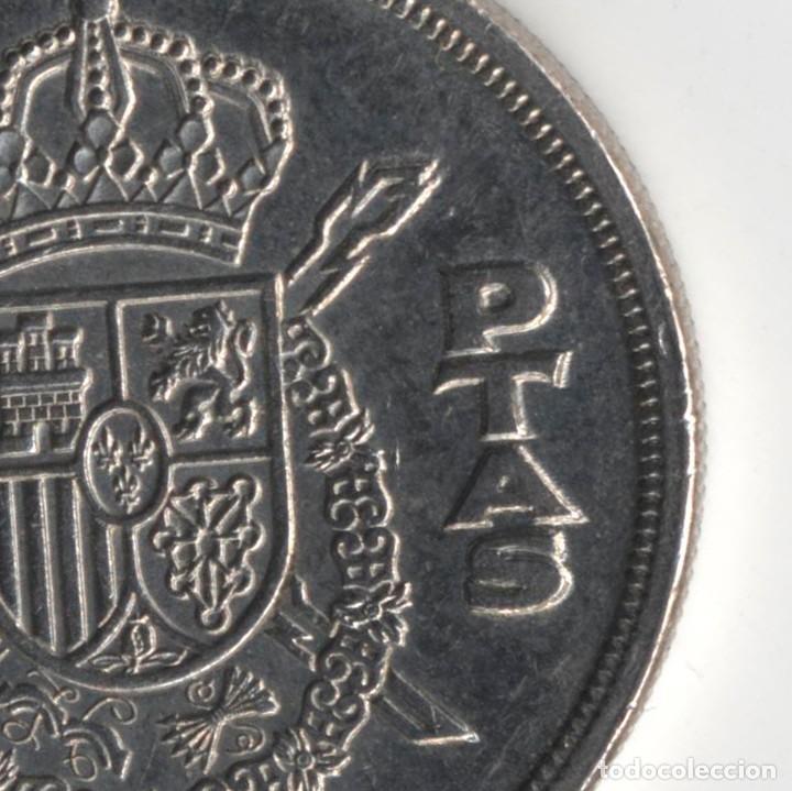 Monedas con errores: JUAN CARLOS I 5 PESETAS 1975*80 ORLA EN PUNTOS DE LA CORONA - REPICADA - 5,75 GRAMOS - Foto 5 - 110560447