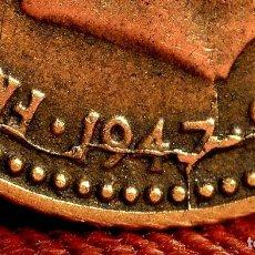 Monedas con errores: CURIOSOS E INTERESANTES ERRORES EN PESETA DE 1947 *53 (REF. 485). Lote 110596839