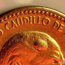 Monedas con errores: ESPECTACULAR Y ESCASA PESETA DE 1953 *54 CON ERRORES (REF. 488). Lote 110699775