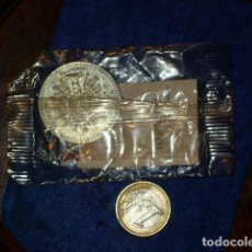 Monnaies avec erreurs: MONEDA DE LA VIRGEN DEL PILAR Y EL PAPA,COLECCION HERALDO DE ARAGON. Lote 110818043