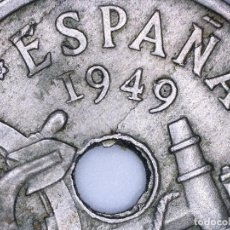 Monedas con errores: ESPAÑA ESTADO ESPAÑOL-FRANCO 50 CÉNTIMOS 1949*52. MÚLTIPLES ERRORES.. Lote 110910255