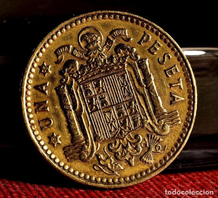 Monedas con errores: UNA PESETA 1963 *65: LETRAS MAYÚSCULAS AL REVÉS EN EL REVERSO Y PROBLEMAS EN EL ANVERSO (REF. 506) - Foto 5 - 111431235