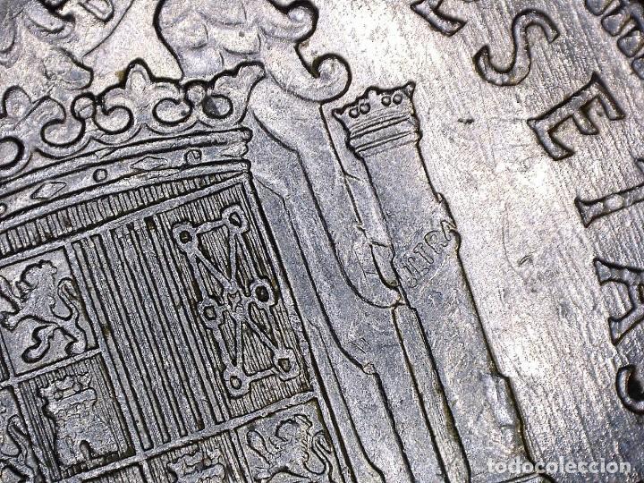 Monedas con errores: ERROR- FRANCO 5 PESETAS 1949*49 SC PROFUSIÓN DE MARCAS INCUSAS EN ANVESO MÁS LEVES EN - Foto 3 - 111787187