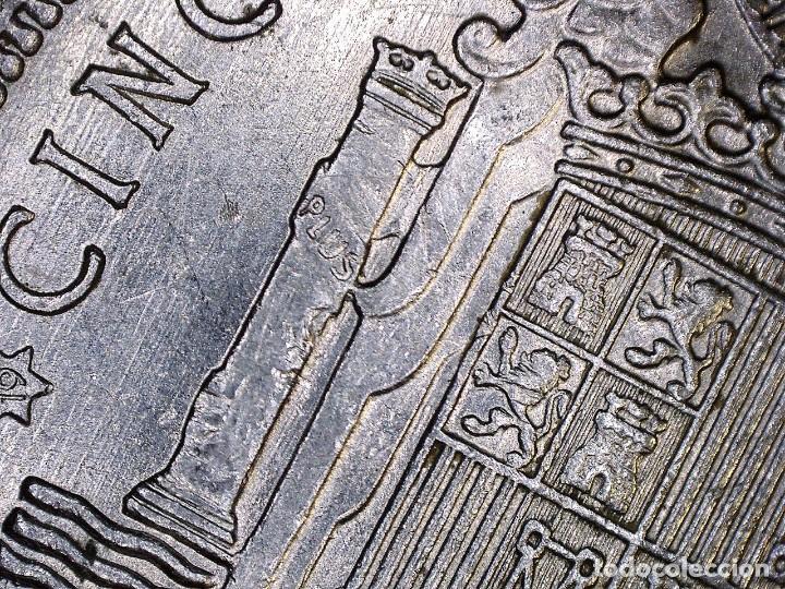Monedas con errores: ERROR- FRANCO 5 PESETAS 1949*49 SC PROFUSIÓN DE MARCAS INCUSAS EN ANVESO MÁS LEVES EN - Foto 4 - 111787187