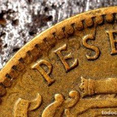 Coins with Errors - ERRORES DIVERSOS EN PESETA 1963 *67 (REF. 520) - 112037775