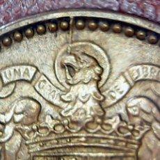 Monedas con errores: * ERROR * 1 PTA 1953-56 . EXCESO DE METAL EN LA CABEZA DEL AGUILA.CUÑO PARTIDO. Lote 114869123