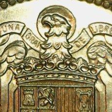 Monedas con errores: * ERROR * 1 PTA 1966-74 . EXCESO DE METAL EN LAS ALAS. Lote 112066895