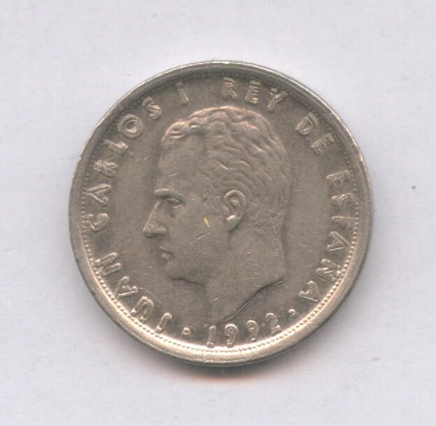 Monedas con errores: * ERROR *. RARO Y ESCASO MONEDAS DE 10 PESETAS AÑO 1992 LEYENDA REMARCADA - Foto 2 - 112682568