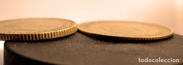 Monedas con errores: ESPECTACULARES ERRORES DE ACUÑACIÓN EN PESETA DE 1966 (REF. 535) - Foto 3 - 112715443