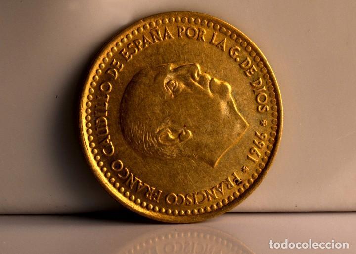 Monedas con errores: ESPECTACULARES ERRORES DE ACUÑACIÓN EN PESETA DE 1966 (REF. 535) - Foto 4 - 112715443