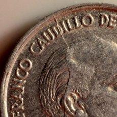 Monedas con errores: MONEDA DE 10 CÉNTIMOS DE 1959. CURIOSOS ERRORES EN ANVERSO Y EN REVERSO (REF. 538). Lote 113097727