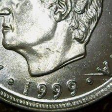 Monedas con errores: * ERROR * MONEDA 10 P 1999 EXCESO DE METAL (BANDA) EL ESPAÑA SIN CIRCULAR. Lote 113258540