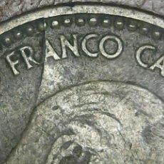 Monedas con errores: * ERROR * 1 PTA 1963-65 . CUÑO PARTIDO. Lote 113376707