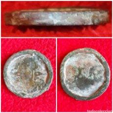 Monedas con errores: DOBLE MONEDA FERNANDO VII 2 MARAVEDIS ERRORES DE CUÑO. Lote 113502392