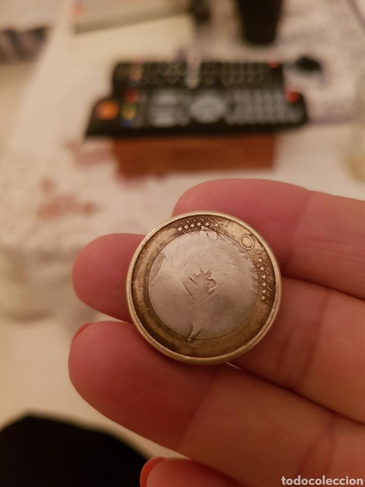Monedas con errores: Un Euro error Sin Cara ni Cruz - Foto 2 - 113858044