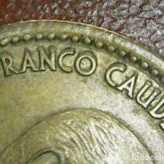 Monedas con errores: * ERROR * 1 PTAS 1966*75. LIGERAMENTE REMARCADA, ORLA DE PUNTOS PEGADA AL LISTEL, Y MAYOR PESO 3,55. Lote 114754054