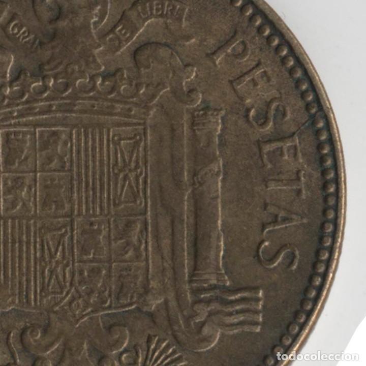 Monedas con errores: BONITA MONEDA DE 2,5 PESETAS 1953*56 FRANCO CON VARIOS ERRORES, METAL, INCUSA, COSPEL...7,10 GRAMOS - Foto 3 - 115165019