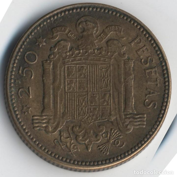 Monedas con errores: BONITA MONEDA DE 2,5 PESETAS 1953*56 FRANCO CON VARIOS ERRORES, METAL, INCUSA, COSPEL...7,10 GRAMOS - Foto 4 - 115165019