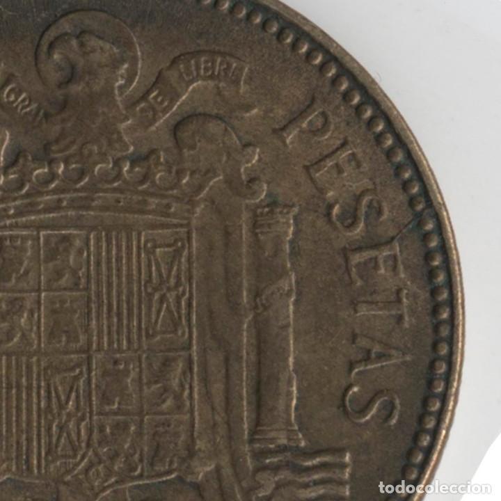 Monedas con errores: BONITA MONEDA DE 2,5 PESETAS 1953*56 FRANCO CON VARIOS ERRORES, METAL, INCUSA, COSPEL...7,10 GRAMOS - Foto 5 - 115165019