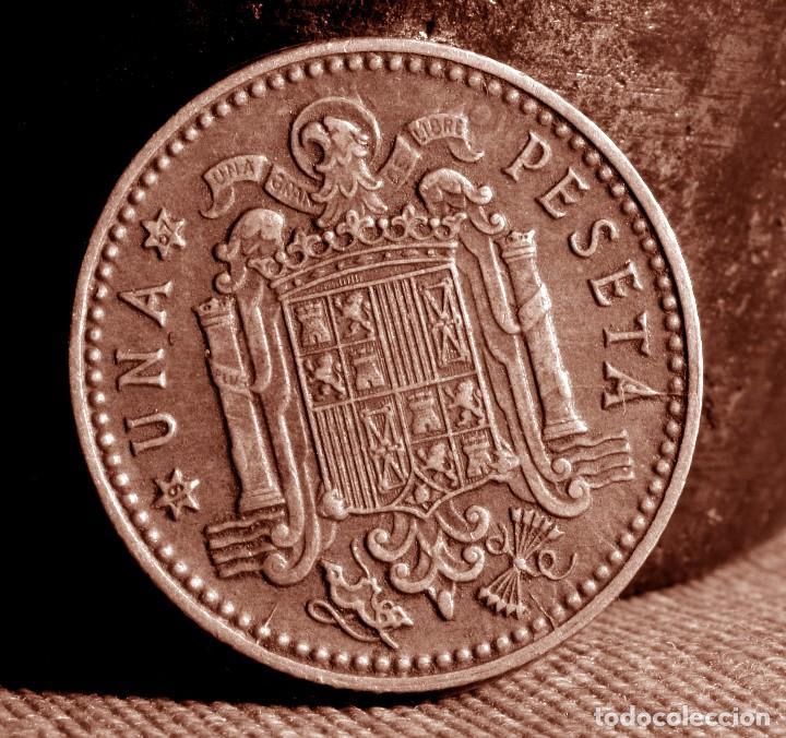 Monedas con errores: GRAN ACUMULACIÓN DE ERRORES EN PESETA DE 1966 *67 (REF. 573) - Foto 6 - 115286347