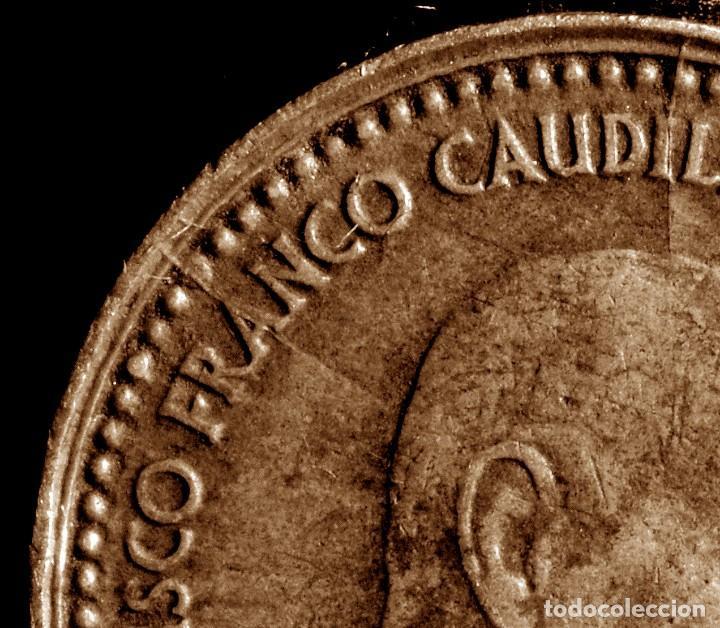 Monedas con errores: GRAN ACUMULACIÓN DE ERRORES EN PESETA DE 1966 *67 (REF. 573) - Foto 12 - 115286347