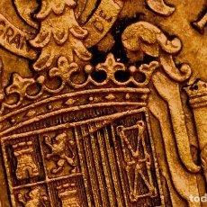 Monedas con errores: PESETA DE 1966 *72: GRAN LINEA INFILTRADA EN LAS BARRAS VERTICALES SUPERIORES DEL ESCUDO (REF. 583). Lote 116250695