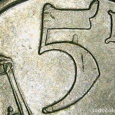 Coins with Errors - * ERROR * MINI-JACOBEO 5 PESETAS 1993 - 116336739
