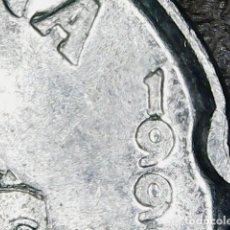 Monedas con errores: * ERROR * 50 PESETAS AÑO 1992 ERROR FECHA PUNTUADA. Lote 116337159