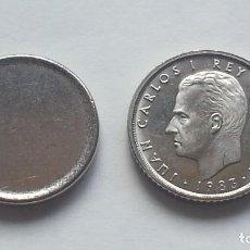Monedas con errores: ## ERRORES Y VARIANTES ## RARO Y ESCASO COSPEL DE 10 PESETAS ##. Lote 116746159