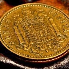 Monedas con errores: PESETA DE 1966 *67: CANTO CORONA + EXTRAS (REF. 591). Lote 116932047