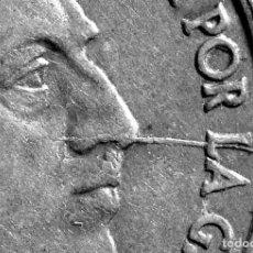 Monedas con errores: MONEDA CIRCULADA DE 10 CÉNTIMOS 1959: GRAN LÍNEA Y REPINTES EN EL ANVERSO (REF. 597). Lote 117117727